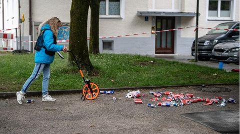 Spurensicherung in München