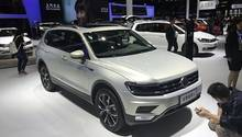 Der VW Tiguan L gehört in China zu den Bestsellern