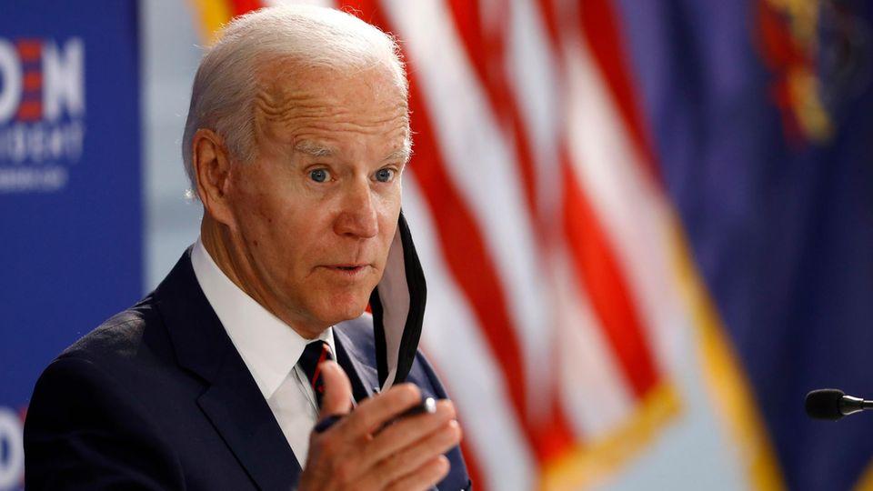 """Joe Biden: Trump wird versuchen, Wahl zu """"stehlen"""""""