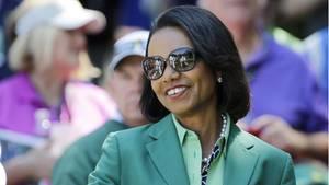 """Die ehemalige AußenministerinCondoleezza Rice ist als """"Running Mate"""" für Joe Biden im Gespräch"""