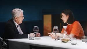 "Frank Elstner trifft in der Netflix-Sendung ""Wetten, das war's ..?"" aufLena Meyer-Landrut"