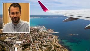 Patrick Czelisnki auf Mallorca