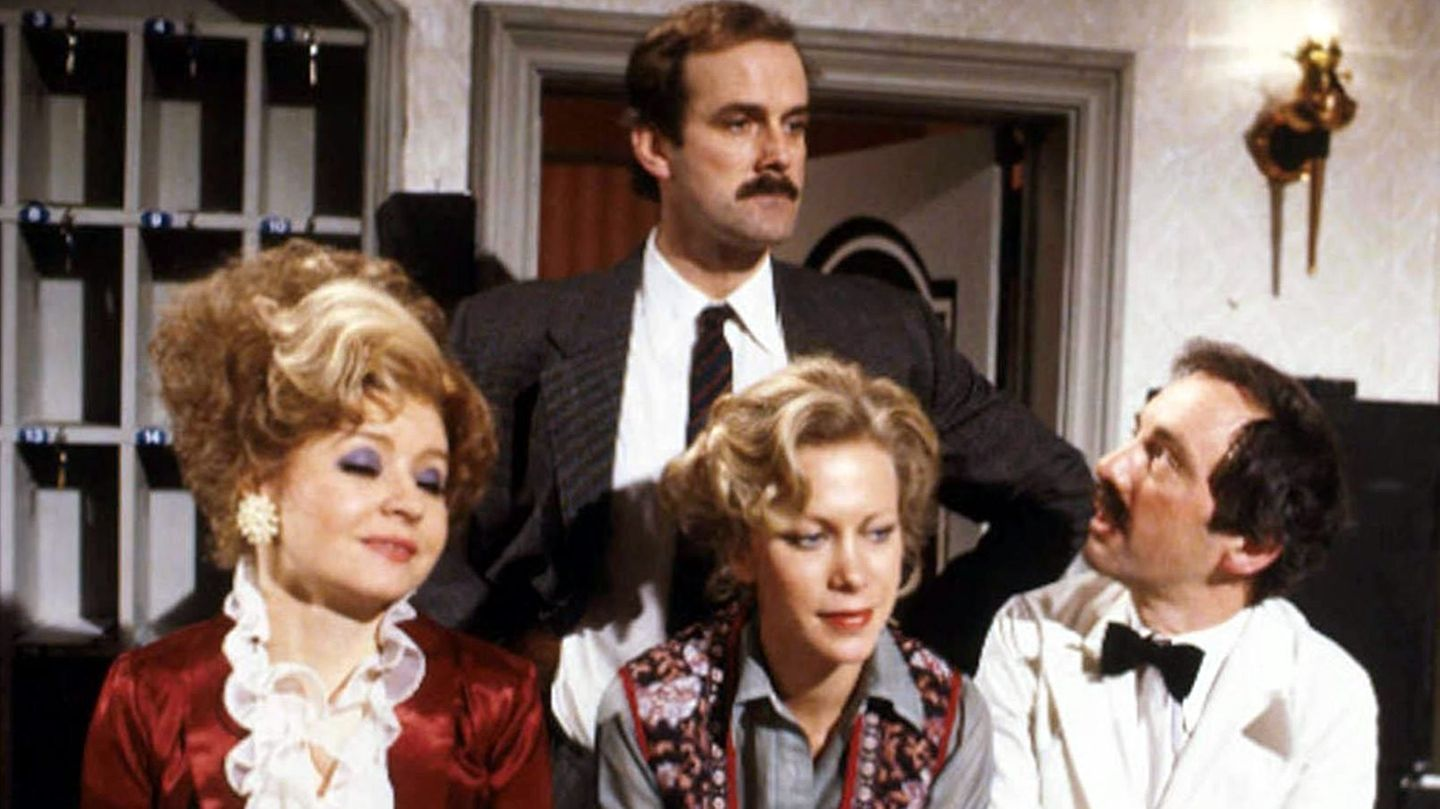 """John Cleese in """"Fawlty Towers"""""""