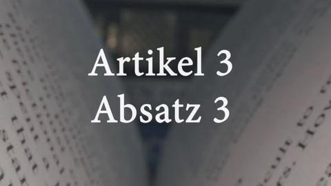 """Vorstoß der Grünen: Widerstand in der Union gegen Streichung des Begriffs """"Rasse"""" aus dem Grundgesetz"""