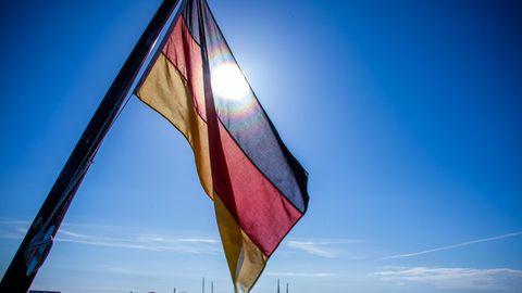 Bundesflagge ohne Bundesadler
