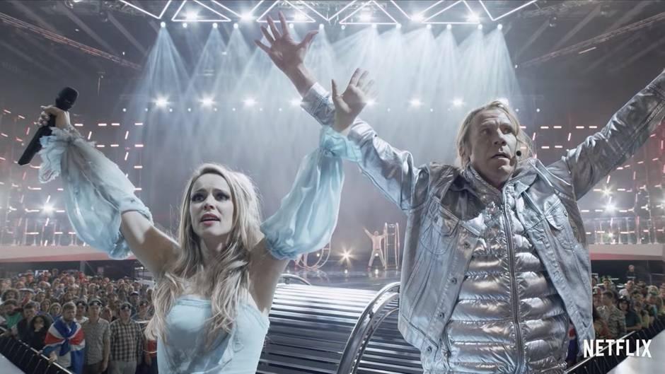 Will Ferrell und Rachel McAdams spielen ehrgeizige Musiker im Netflix ESC-Film.