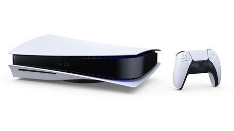 Obwohl die Konsole wohl vor allem stehen soll, zeigte Sony sie bei der Ankündigung für den Bruchteil einer Sekunde auch liegend. Darunter scheint ein Ständer für Stabilität zu sorgen