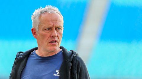Schon jetzt dienstältester Trainer der Bundesliga: Christian Streich vom SC Freiburg
