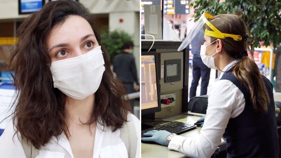 Türkeiurlaub 2020 – Infektionsschutz am Flughafen