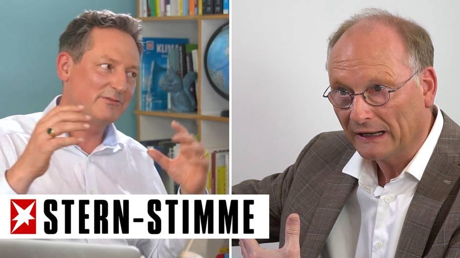 """Klimawandel: """"Für Corona haben wir keinen Impfstoff, für die Klimakrise schon"""": Hirschhausen trifft Meteorologe Plöger"""