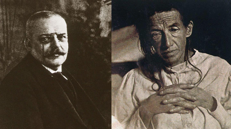 """Wer ist Alzheimer?   Der Psychiater und Neuropathologe Alois Alzheimer beschrieb 1901 den Krankheitsverlauf seiner Patientin Auguste Deter. Mit nur 51 Jahren litt sie an """"Vergesslichkeit und Wahnvorstellungen"""". Altersbedingte Demenz war damals bereits zwar bekannt, aber dafür war Deter viel zu jung. Sechs Jahre später starb sie """"völlig verblödet"""", wie Alzheimer notierte. Bei der Obduktion erkannte der Arzt unter dem Mikroskop abgestorbene Nervenzellen sowie großflächige Ablagerungen im Gehirn. 1907 veröffentlichte Alzheimer eine Abhandlung über eine """"eigenartige Erkrankung der Hirnrinde"""". Drei Jahre später bezeichnete das """"Lehrbuch der Psychiatrie""""diese Krankheit erstmals als Alzheimerische Krankheit – kurz: Alzheimer."""
