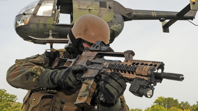 KSK-Soldat