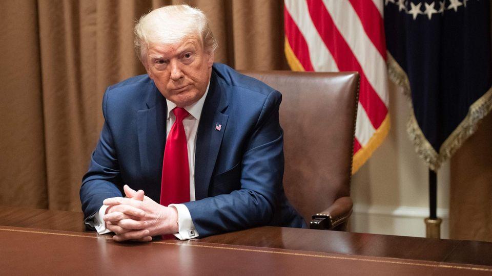 Donald Trump versteht sich als mitfühlend und einigend