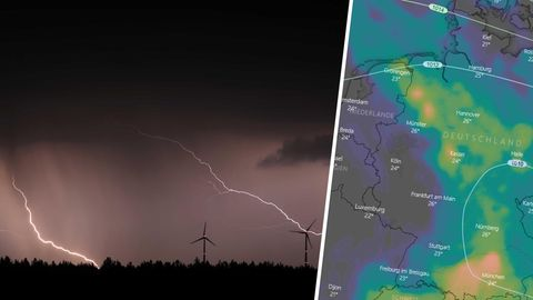 Wochenend-Wetter in Deutschland