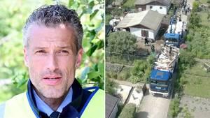 Missbrauchsfall: Polizei lässt Laube in Münster abreißen