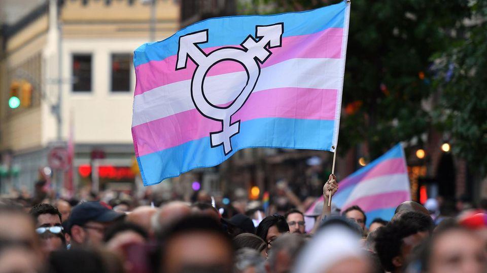 Trans-Menschen Demo
