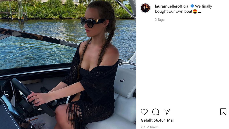 Vip News: Laura Müller und Michael Wendler kaufen sich ein Boot