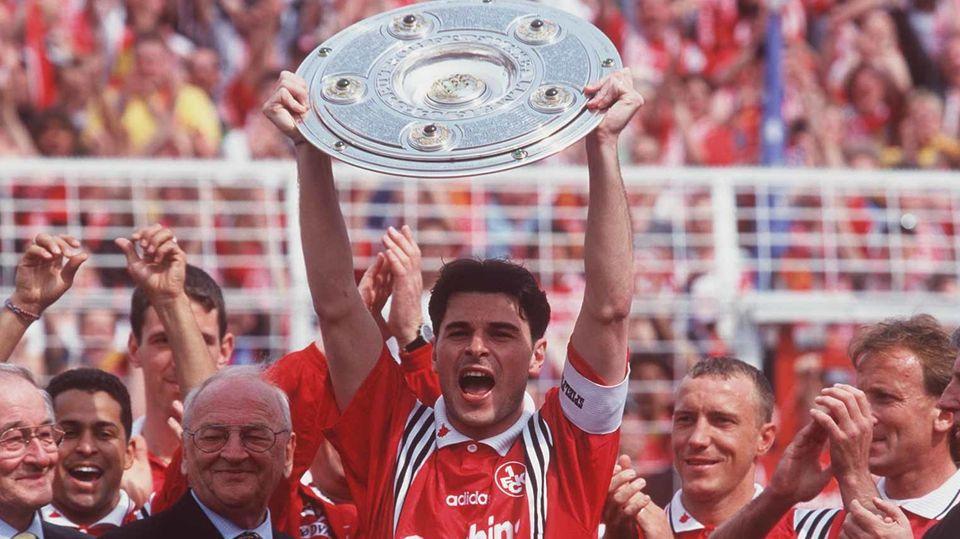 Kaiserslautern feiert die Meisterschaft 1998