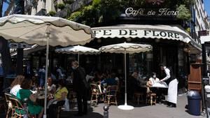 Im Pariser Großraum können erstmals wieder alle Restaurants und Cafés öffnen.