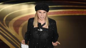 Barbra Streisand bei der Oscar-Verleihung im Jahr2019