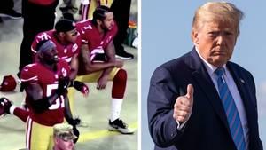 Trump will jetzt weniger Football-Spiele gucken