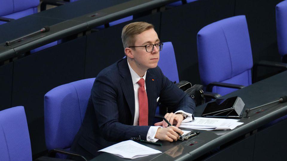 Der CDU-Bundestagsabgeordnete Philipp Amthor