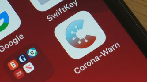 Icon der Corona-Warn-App des Robert-Koch-Instituts