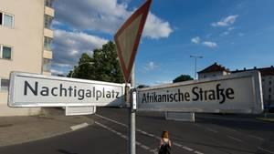 Ein Straßenschild im Koblenzer Stadtteil Rauental trägt den Namen von Friedrich Syrup