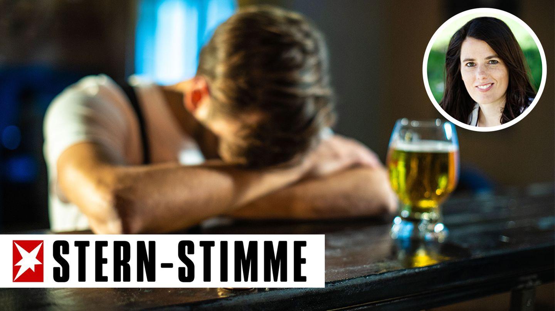 Partner alkoholiker trennung