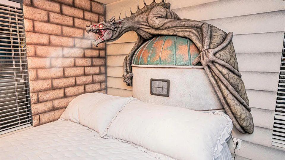 """Airbnb: Eine ganze Villa im """"Harry-Potter""""-Look: Ferienhaus in Florida für Potterheads"""