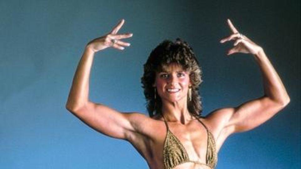 Sievers, Gabriele, dt. Bodybuilding- Weltmeisterin, 80er Jahre