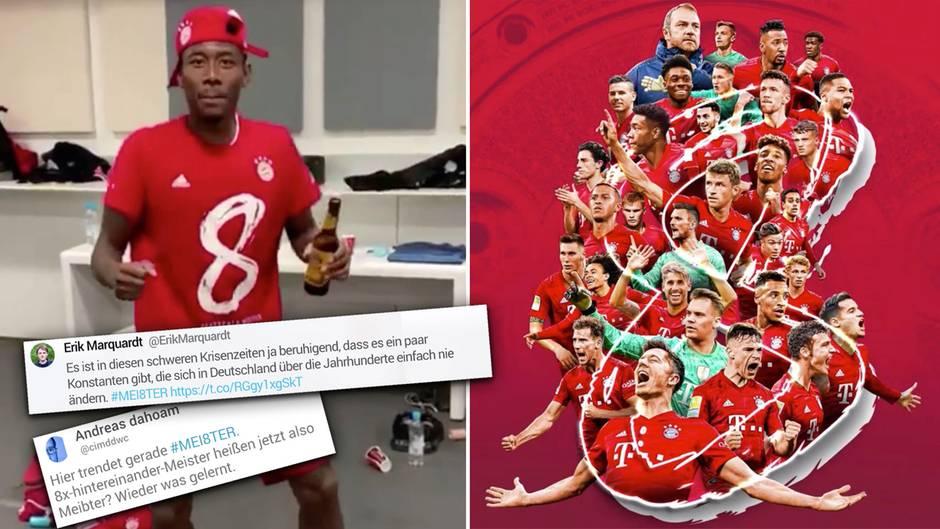 """Bayern sind """"Corona-Meister"""" – Hashtag der Münchner sorgt für Spott"""