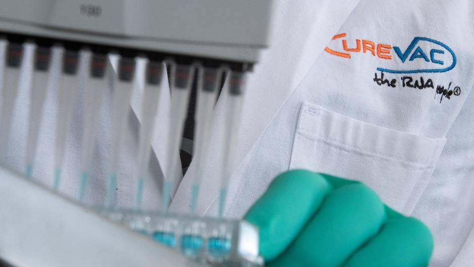 CureVac forscht an einem Coronavirus-Impfstoff