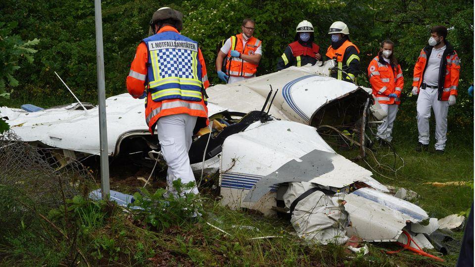 Nachrichten aus Deutschland – Mann verunglückt bei Flugzeugabsturz bei Reinsfeld