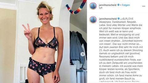 Janni Hönscheid über Selbstliebe
