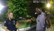 Der Polizeieinsatz startete entspannt, eskalierte jedoch wenig später. Der Polizist töteteRayshard Brooks mit drei Schüssen.