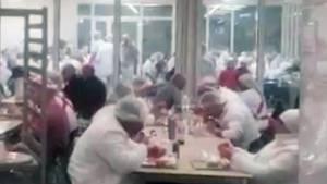 Geleaktes Video aus Tönnies-Fleischfabrik