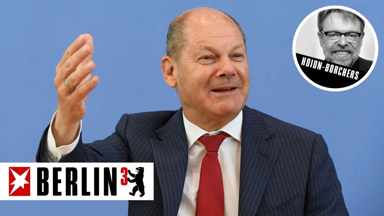 Olaf Scholz ist laut Umfragen der aussichtsreichste Kanzlerkandidat der SPD