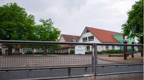 Die  Brinkmannschule in Langenberg im Kreis Gütersloh