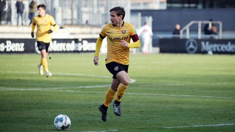 Chris Löwe von Dynamo Dresden