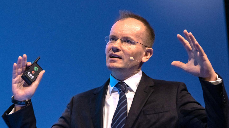 Wirecard-Chef Markus Braunspricht auf der Hauptversammlung 2019