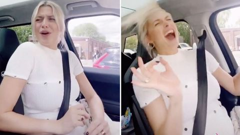 Lena Gercke trollt Freund Dustin in lustigem Tiktok-Video