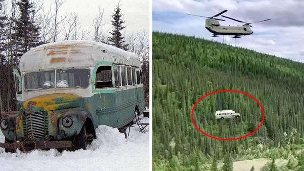 """Der Bus aus """"Into the Wild"""" wird entfernt"""