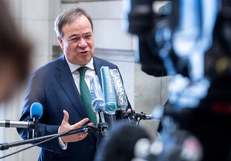 Armin Laschet Leistet Sich In Der Krise Kommunikativen Risikokurs Stern De