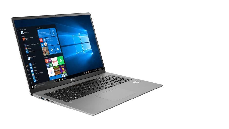 """Notebook LG """"gram"""": Flach, leicht, leise und voller Anschlüsse"""