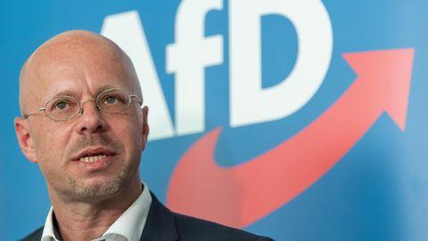 """""""Ein sehr engagiertes Mitglied"""": der AfD-Politiker Andreas Kalbitz"""