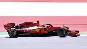 Sebastian Vettel beim Formel-1-Rennen in Österreich 2019