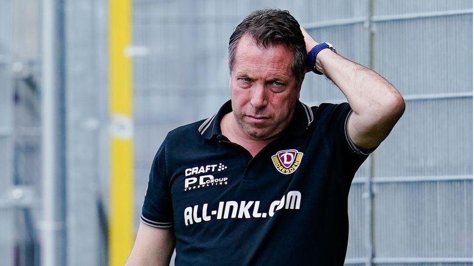 Hatte schon bessere Tage als diesen Sonntag: Dresden-Coach Markus Kauczinski