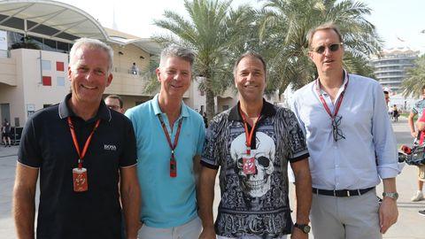 Christian Danner, Heiko Wasser, Kai Ebel und Florian König