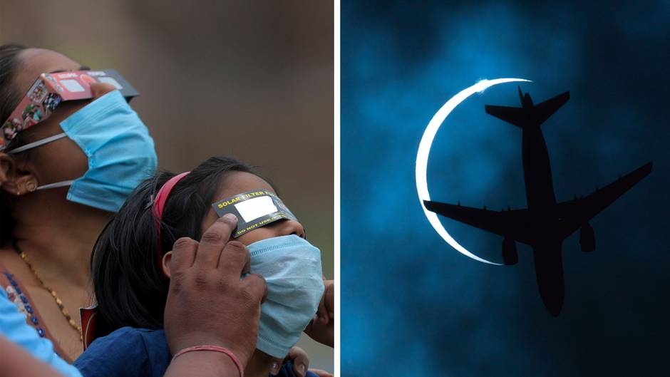 Seltenes Naturschauspiel: Ringförmige Sonnenfinsternis begeistert tausende Menschen weltweit